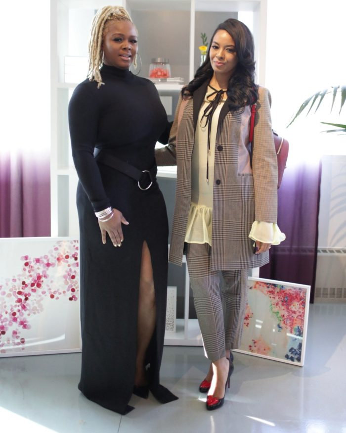 Claire Sulmers and Vanessa Simmons via Fashion Bomb daily