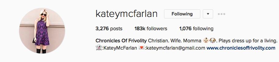 Katey McFarlan - Chronicles of Frivolity