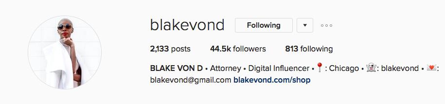 Blake Von D